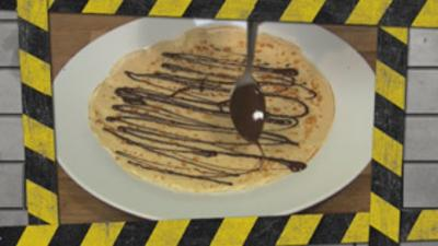Disaster Chefs - How to make chocolate pancakes