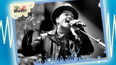 Music Star Poster: Bruno Mars