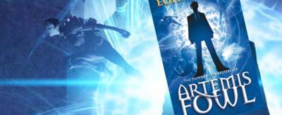 Artemis Fowl book cover.