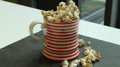CBBC Dish Up - How to make Cinnamon Toast Popcorn
