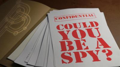 Blue Peter - Quiz: Could you be a spy?