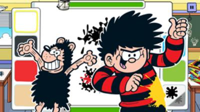 Dennis the Menace and Gnasher - Dennis and Gnasher - Splatter Time