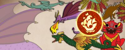 A collection of various different dragons looking magnificent.