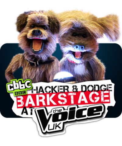 Hacker and Dodge Barkstage at the Voice.