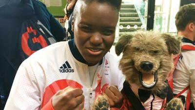CBBC HQ - When Hacker met the Olympic Heroes...