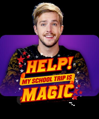 Iain Sterling - Help My School Trip is Magic.