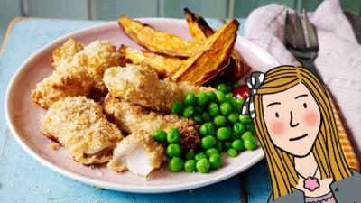 CBBC Dish Up - Lily's Fish Fingers