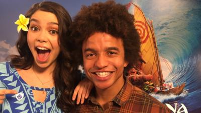 Blue Peter - Exclusive chat with Moana star!