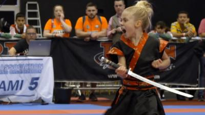 My Life  - Martial arts champion JJ defends her title