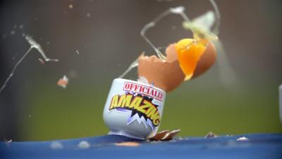 Officially Amazing - Egg cracking challenge