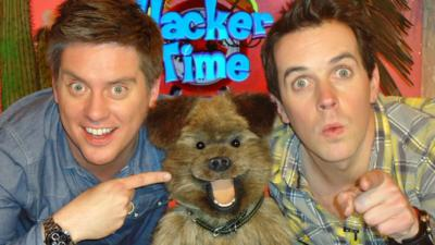 Hacker Time  - Dick, Dom and Hacker Create Some Music!
