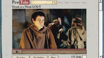 Horrible Histories - Saxon Monk – Internet Videos are Forever