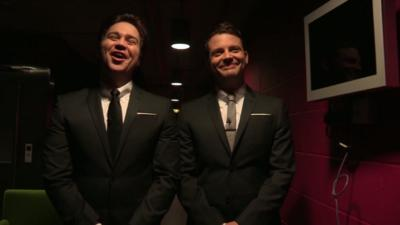 Sport Relief Does Glee Club 2014 - How well do Sam and Mark know each other?