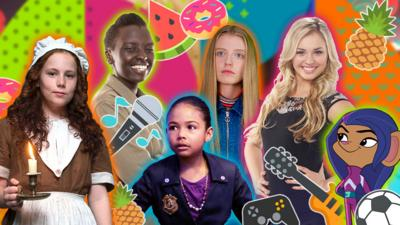 CBBC HQ - Six seriously strong CBBC females