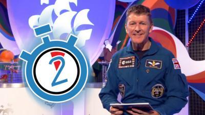 Blue Peter - Meet Tim Peake in a minute!