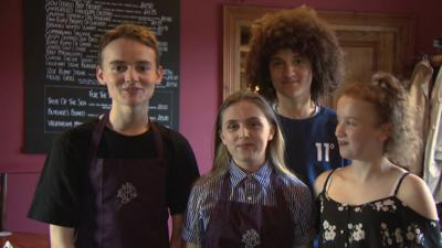 WHOOPS I MISSED THE BUS - Dumping Ground cast surprise two superfans