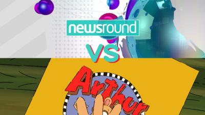 WHOOPS I MISSED THE BUS - Newsround VS Arthur