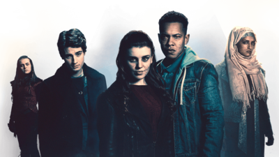 Characters from Wolfblood.