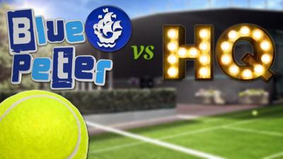 CBBC HQ - Word Tennis with Blue Peter and CBBC HQ