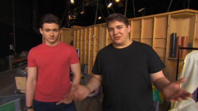 Wizards vs Aliens - CBBC Extra Wizards vs Aliens Superfan Visit Part 1