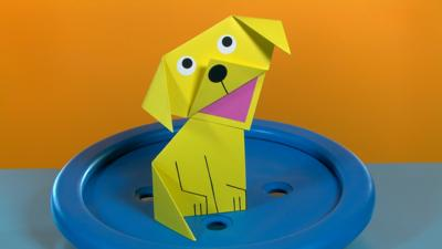 Mister Maker - Folded Square Dog