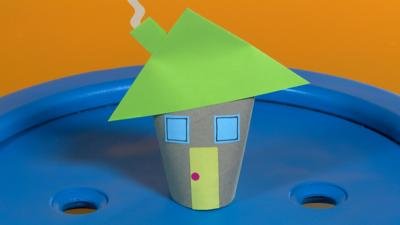 Mister Maker - Cardboard Cottage