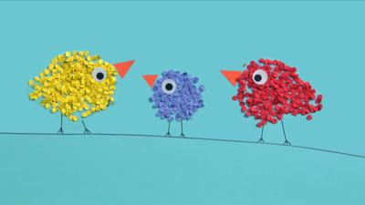 Mister Maker - Paper Dot Bird