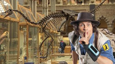 Andy's Prehistoric Adventures - A Surprise at the Museum