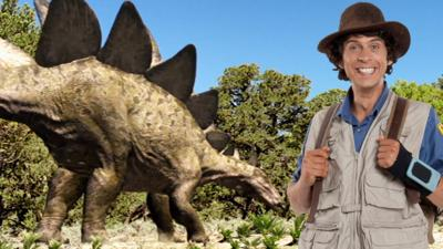 Andy's Prehistoric Adventures - Stegosaurus Facts