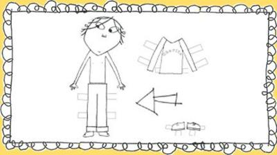 Charlie and Lola - Paper Dolls