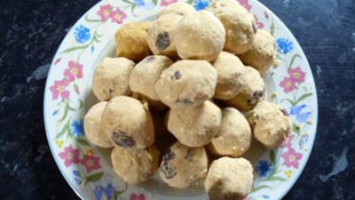 Let's Celebrate - Holi - Besan Ladoo Sweets