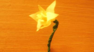 Let's Celebrate - St David's Day - Paper Daffodil