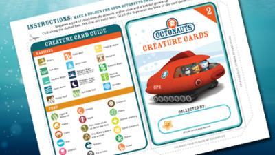 Octonauts - Creature Card Holder
