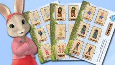 Peter Rabbit - Peter Rabbit Print and Play Pairs