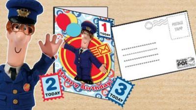 Postman Pat - Postman Pat Birthday Card
