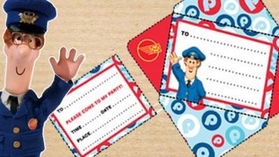 Postman Pat - Postman Pat Party Invitation