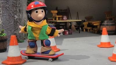 Postman Pat - Skateboard Competition
