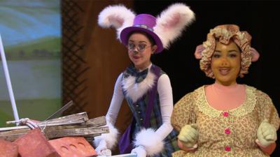 Dancing Beebies - Being Two Characters