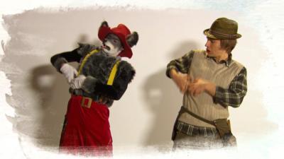 Dancing Beebies - Learn The Dance: Big Bad Wolf