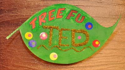 Tree Fu Tom - Tree Fu Leaf Sign