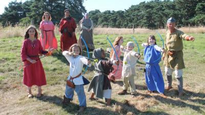 My Story - Osgar's Anglo-Saxon Adventure