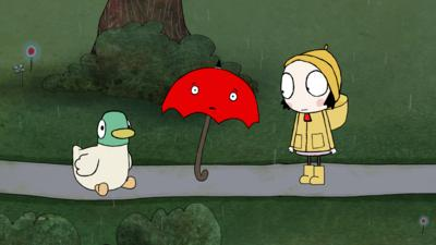 Sarah and Duck - Umbrella And The Rain
