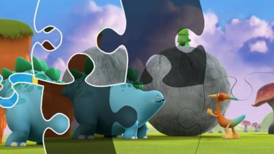 Dinopaws - Dinopaws Jigsaw Puzzle