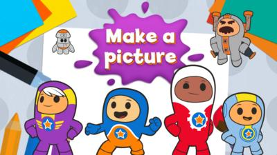 Go Jetters - Make a picture with the Go Jetters