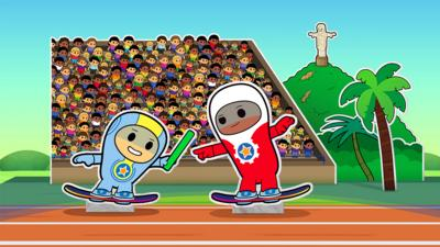 Go Jetters - Rio Relay Race