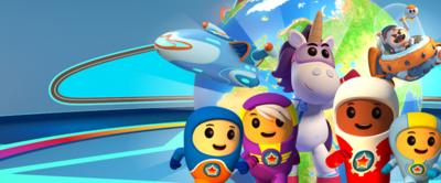 The Go Jetters and Ubercorn.