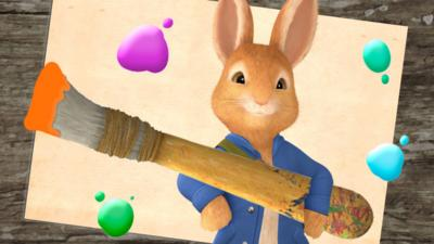 Peter Rabbit - Make a Peter Rabbit Picture
