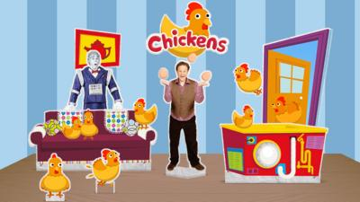Justin's House - Justin's House: Chickens