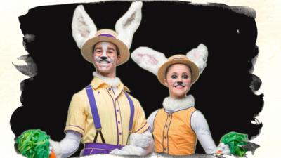 CBeebies Tortoise and the Hare - Dance like the Bunnies