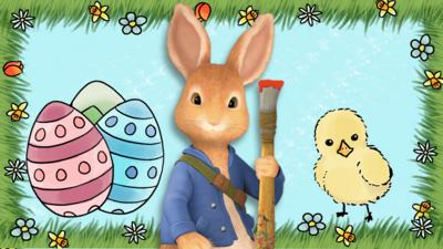 Peter Rabbit - Make an Easter picture with Peter Rabbit